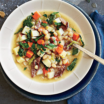 Garbure (French Ham and Vegetable Stew)