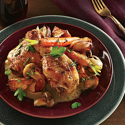 Champagne-Browned Butter Chicken