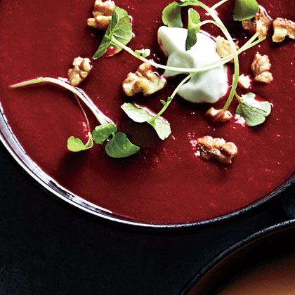 Spiced Beet and Carrot Soup