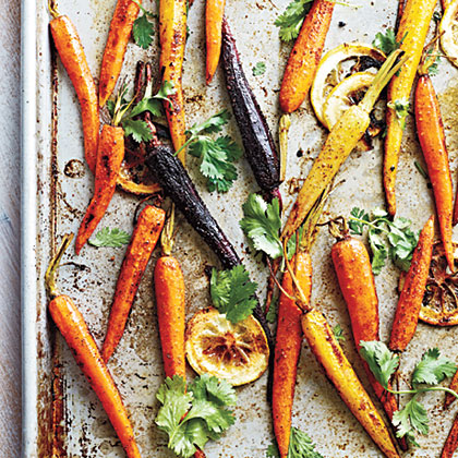 Moroccan-Spiced Baby Carrots