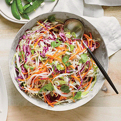 Tequila Slaw with Lime and Cilantro