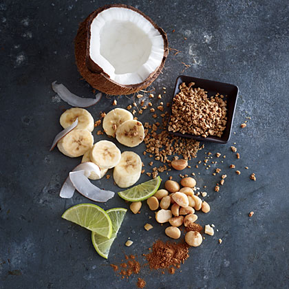 Coconut-Banana Grape-Nuts with Lime
