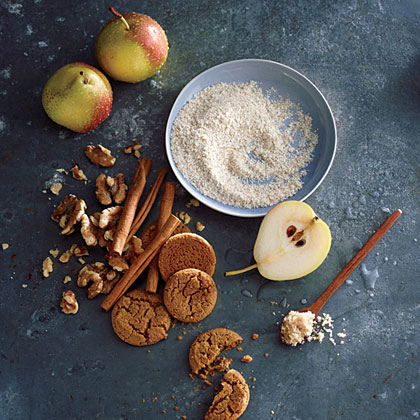Creamy Wheat with Pear and Ginger
