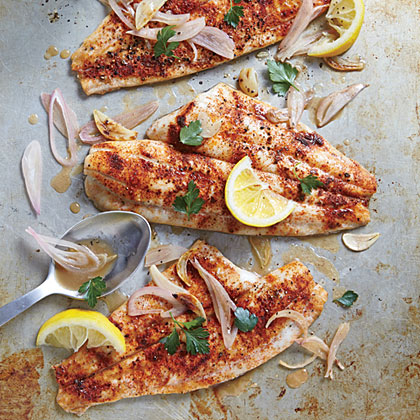 Clam Shack Style Broiled Fish Recipe Myrecipes
