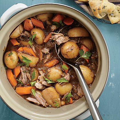 Braised Oxtail and Short Rib Stew