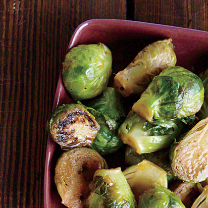 Browned Butter and Lemon Brussels Sprouts