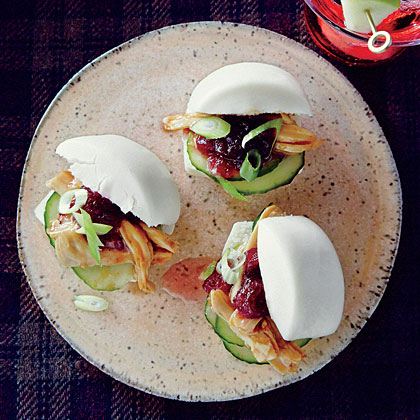 Cranberry-Hoisin Turkey Buns