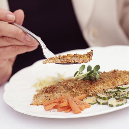 Spiced Fillet of Trout