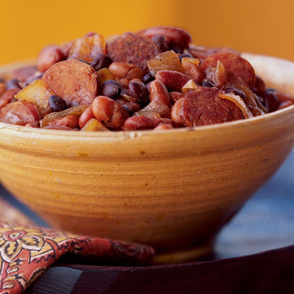 Fiery Chipotle Baked Beans