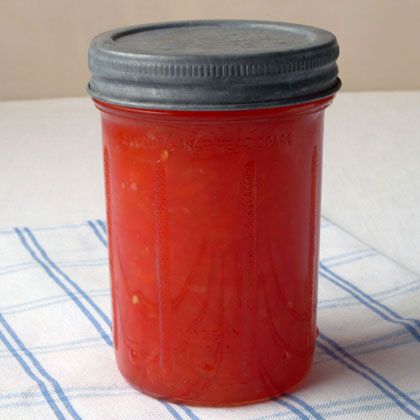 Spiced Pepper Relish