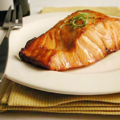 Lime-Marinated Broiled Salmon