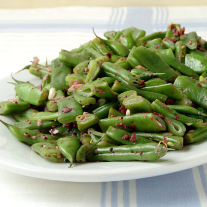 Rattlesnake Beans with Olive Tapenade