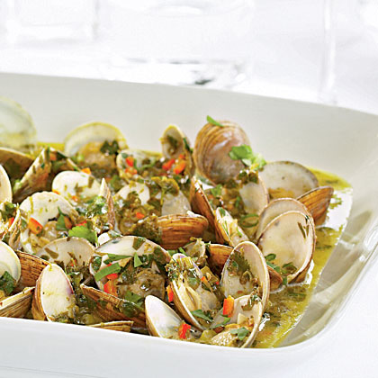 Local Clams with Herb Butter