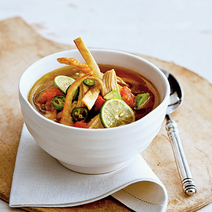 Yucatecan Chicken-and-Lime Soup