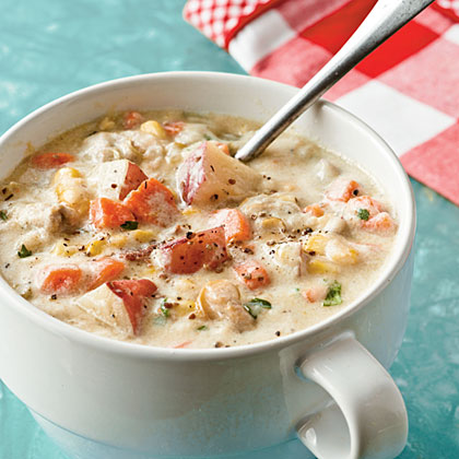 No-Cream Clam Chowder