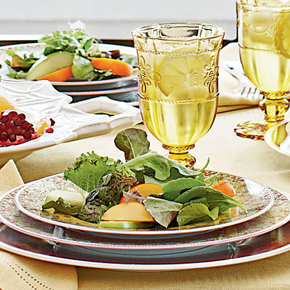 Mixed Greens with Walnut-Fig Vinaigrette