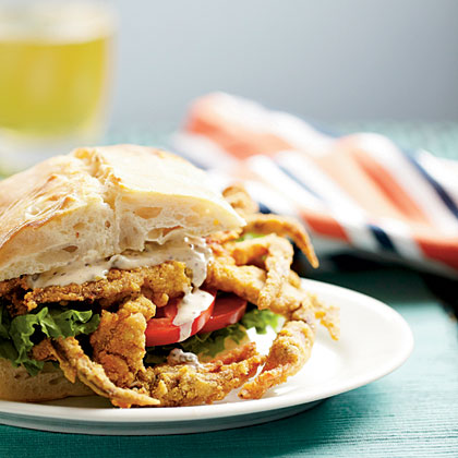 Soft-Shell Crab Sandwiches with Spicy Rèmoulade