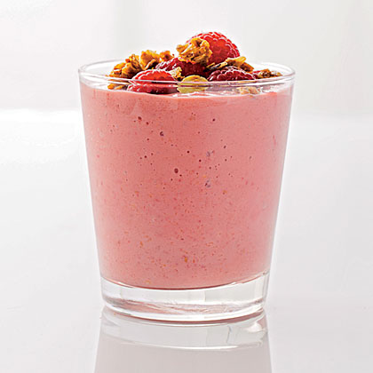 Raspberry-Mango Smoothie