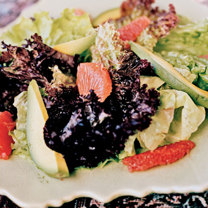 Avocado-Citrus Salad with Meyer Lemon Vinaigrette