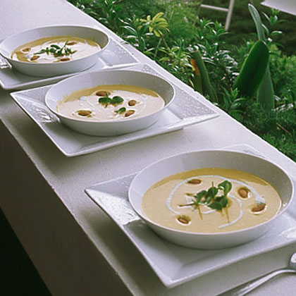 Curried Calabaza Soup
