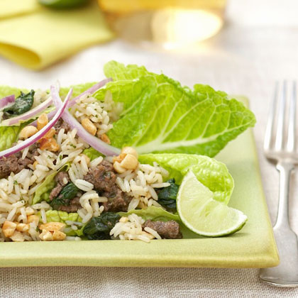 Lime-and-Cilantro Beef Salad