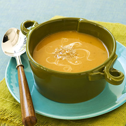 Sweet Potato-Peanut Soup
