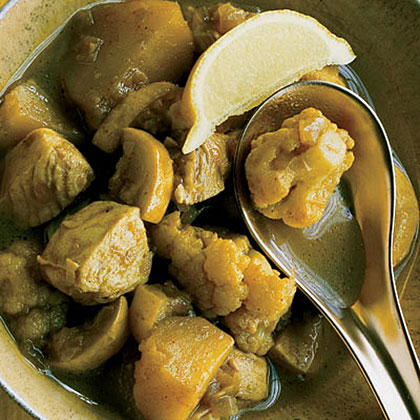 Chicken Curry with Squash
