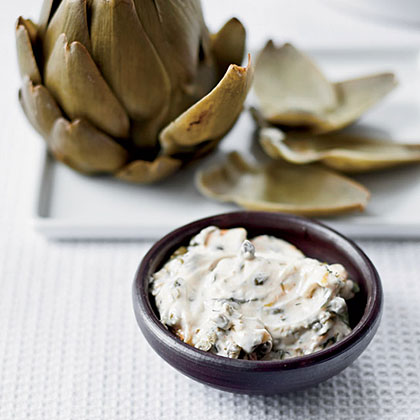 Artichokes with Smoked-Herb Mayonnaise