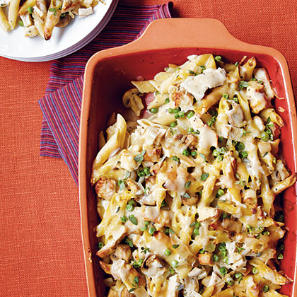 Baked Penne with Turkey
