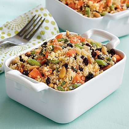 Crunchy Couscous Salad with Currants and Mint