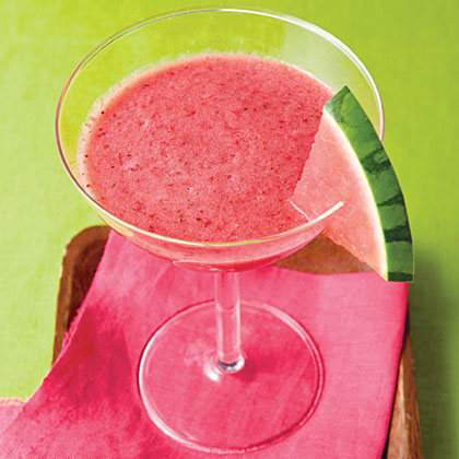 Watermelon-Strawberry Slush