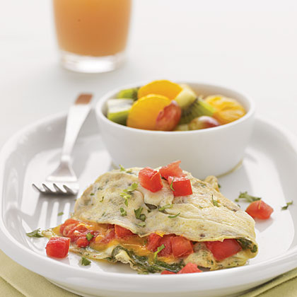 Cheese and Tomato Omelet