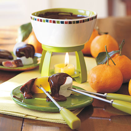 Chocolate-Chipotle Fondue