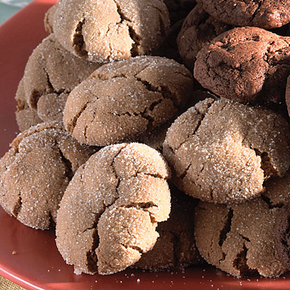 Spicy Molasses Crackles