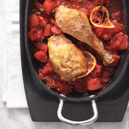 Chicken with Tomatoes and Thyme