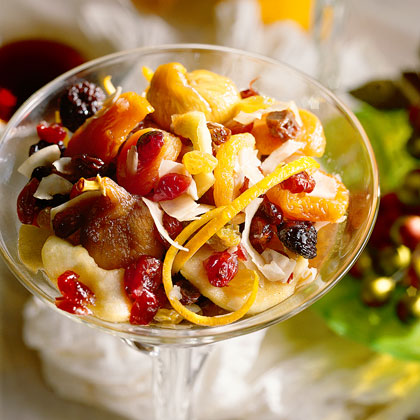 Brandied Fruit Compote