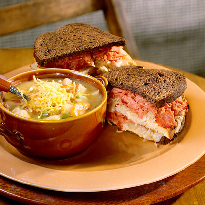 Oven-Grilled Reubens