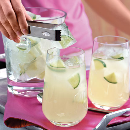 Lime Ice Cubes