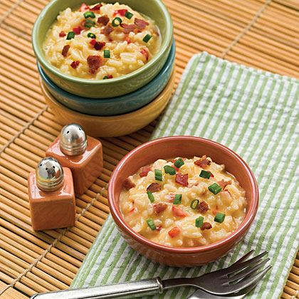 Cheese-and-Bacon Risotto