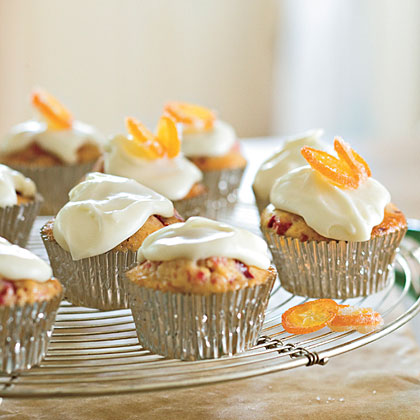 Cranberry-Orange Tea Bread Muffins