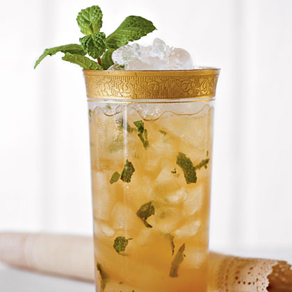 Mint Julep Sweet Tea