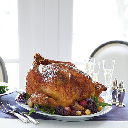 Roasted Turkey with Bearnaise Butter