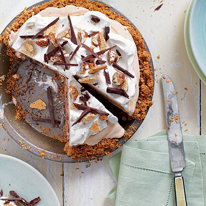 Mexican Chocolate Ice-cream Pie
