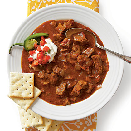 Spicy Slow-Cooker Beef Chili