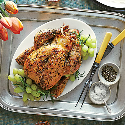Classic Double Roast Chickens
