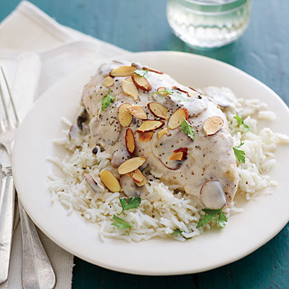 Chicken Breasts with Almonds
