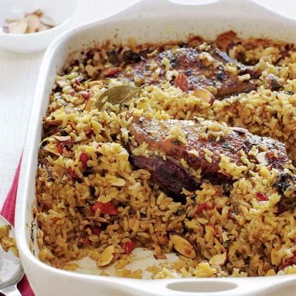 Arroz con Gansos o Patos (Rice with Geese or Ducks)