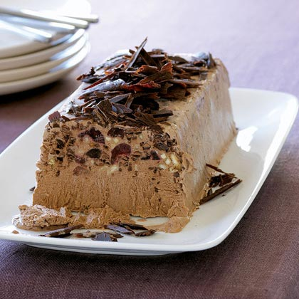 Chocolate-Amaretto Semifreddo