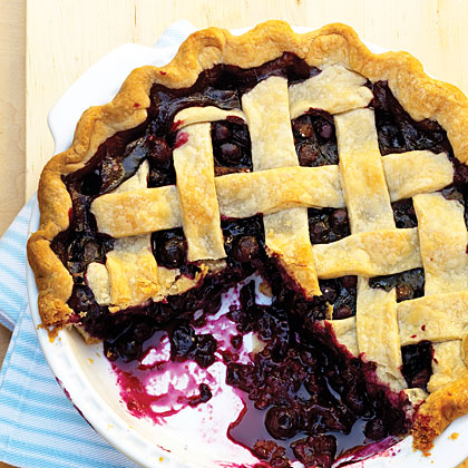 Spiced Blueberry Pie