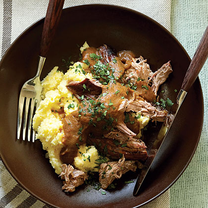 Coffee-Braised Spoon Lamb